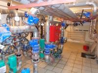 ИТП с одноступенчатой схемой присоединения к тепловой сети